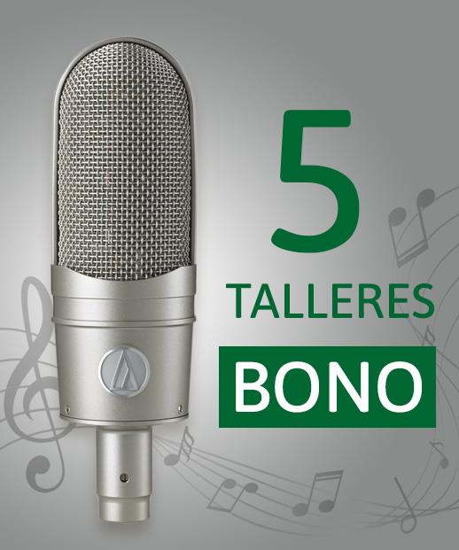 Bono para los 5 talleres